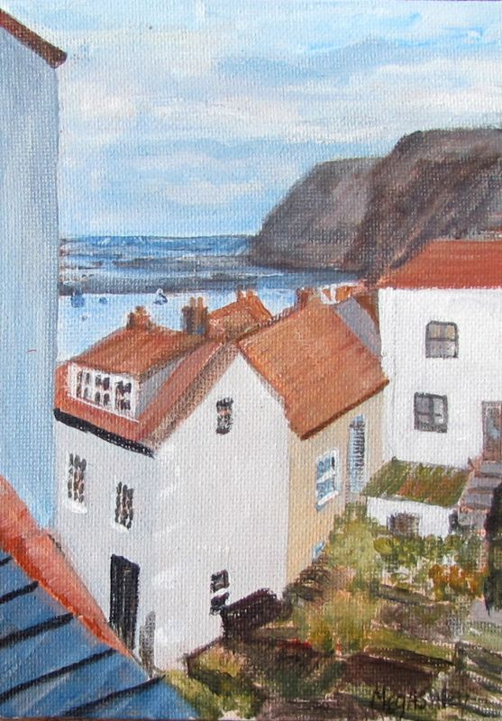 Staithes Houses